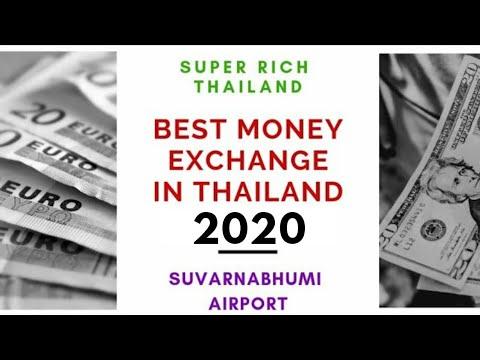 SuperRichThailand   Best Money Exchange Thailand - 2020   Suvarnabhumi Airport