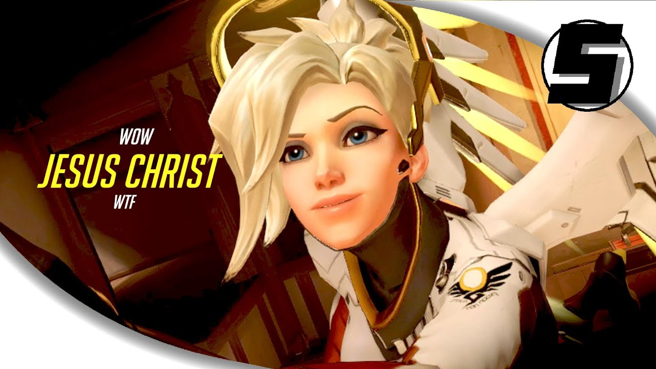 5 Things Every Mercy Player Deals With ( Overwatch )  Youtube