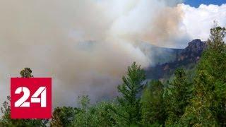 В Бурятии бушуют лесные пожары