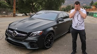 I MESSED UP BUYING THE E63S AMG...