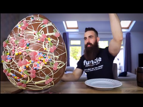 THE 30,000 CALORIE EASTER EGG CHALLENGE | BeardMeatsFood