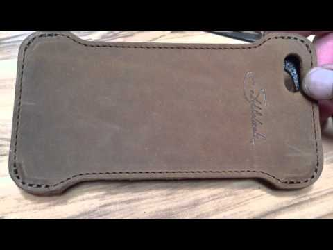 quality design dff3c cd52e Saddleback Leather IPhone 6 Plus case - YouTube