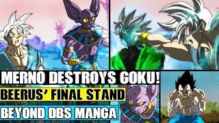 Beyond Dragon Ball Super: Merno Destroys Ultra Instinct Goku! Vegetas Training With The Grand Priest
