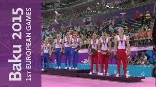 Russia win the Men