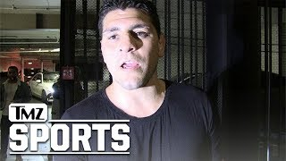 Nick Diaz Says Football Players Make Best MMA Fighters, Here's Why | TMZ Sports