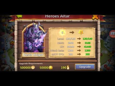 Castle Clash: Power Leveling Death Knight
