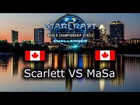 HIT! MaSa VS Scarlett - Ro4 - TvZ - NA Qualifiers WCS Austin 2018 - polski komentarz