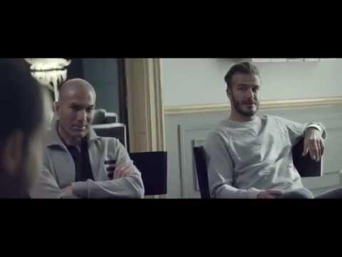Реклама Adidas Зидан,Бекхем,Лукас,Бэйл (official) На русском