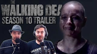 The Walking Dead - Official Season 10 Trailer (SDCC 2019) REACTION & DISCUSSION