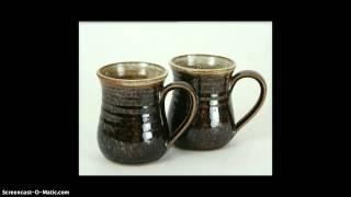 Glazing Coil Pots