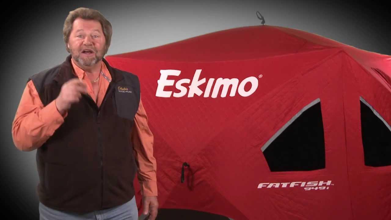 Eskimo Ice Fishing Shelter – Fatfish 949i Review | Ice House For