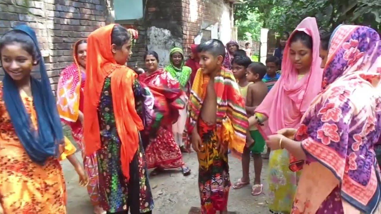 Download Muslim Gender Cutting Processes and Village Circumcision Festival    Bangladeshi Village Life   