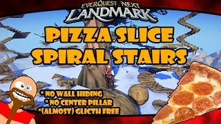 Eq Next Landmark Guide - How To Build A Pizza Slice Spiral Stair