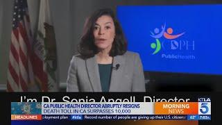 Dr. Sonia Angell resigns as California public health officer