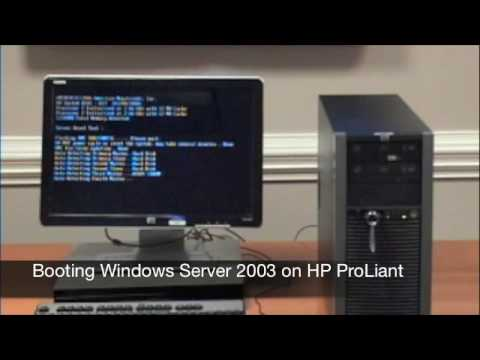 Stromasys Tech Tips-Episode 1: Booting VAX 4000 on HP ProLiant using  CHARON-VAX