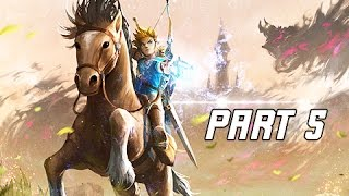 Legend of Zelda Breath of the Wild Walkthrough Part 5 - Ms. Purah (Let's Play Commentary)