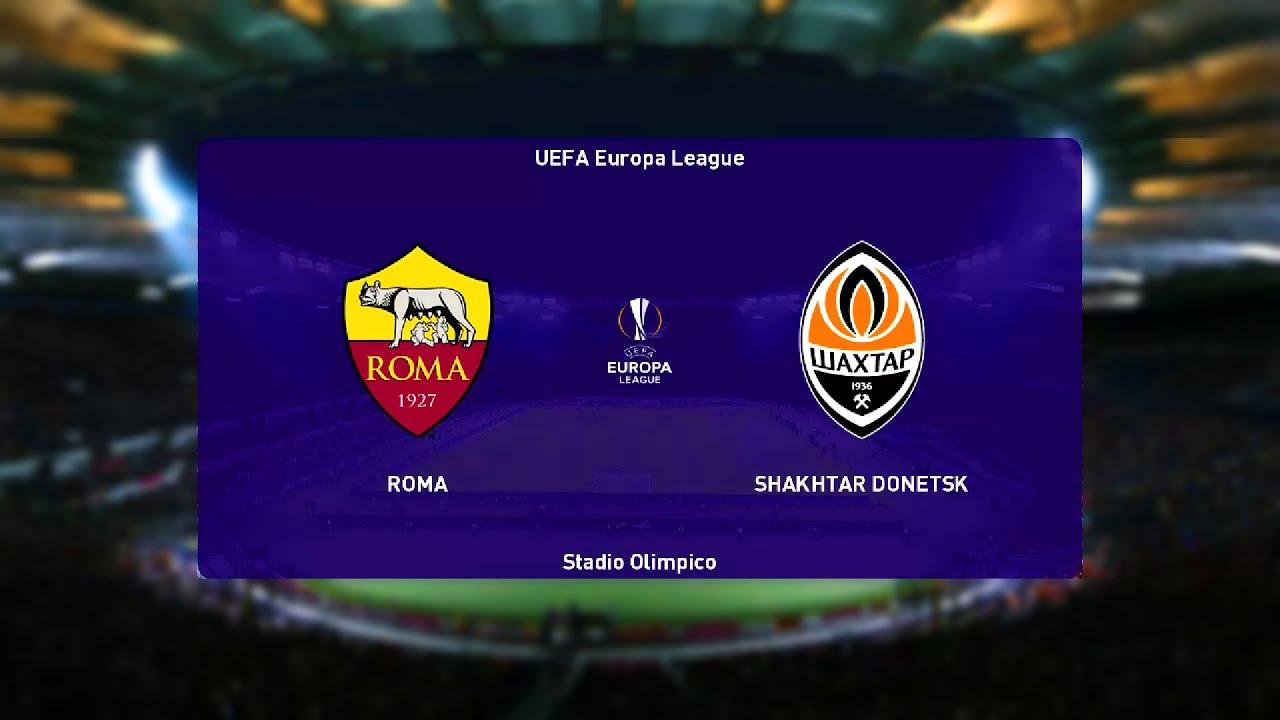 ⚽ Roma vs Shakhtar Donetsk ⚽ | UEFA Europa League (11/03/2021)