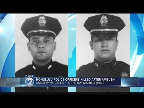 A look back: Honolulu police officers ambushed, killed in the line of duty