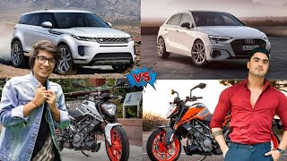 Sourav Joshi Vlogs Vs Paras Thakral Vlogs Car and Bike Collection, Income, Net Worth 2021