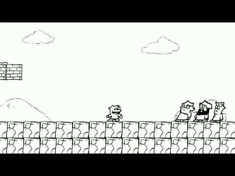 Три Богатыря и Супер Марио Super Mario & Three Russian Bogaturs