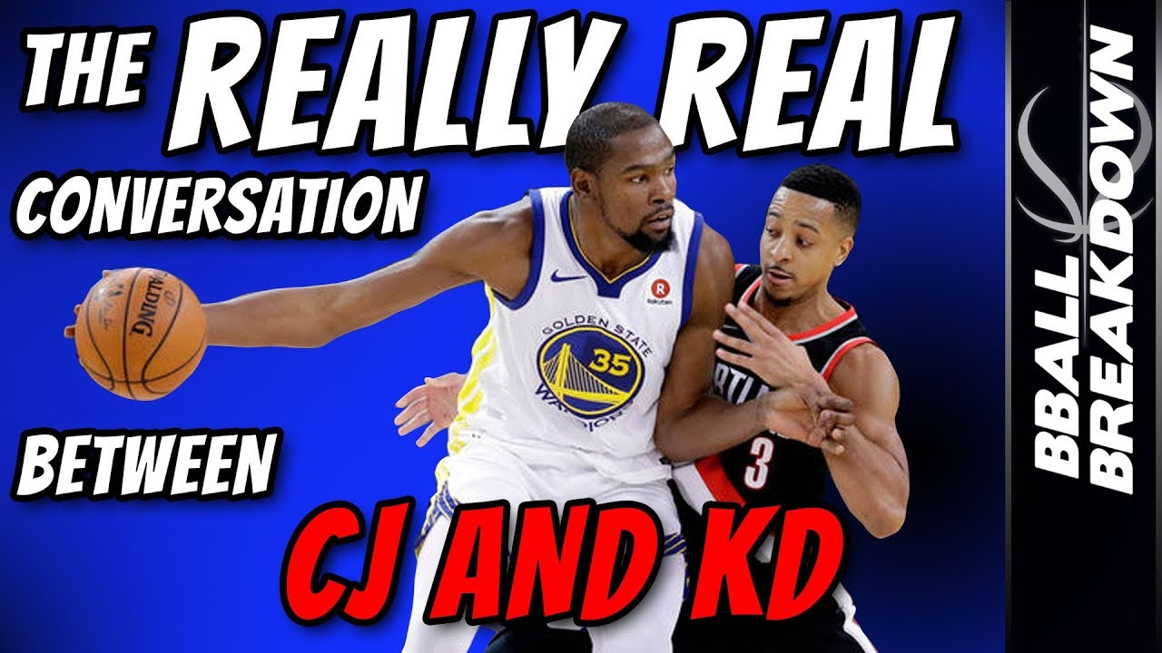 1b81013f122b The REALLY Real Conversation Between CJ McCollum And Kevin Durant ...
