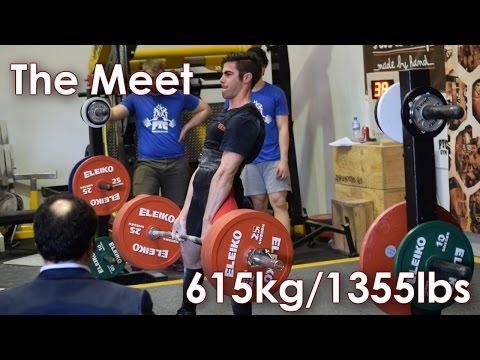Powerlifting Australia Perth Open 615kg/1355.84lbs @ 81.7kg/180lbs