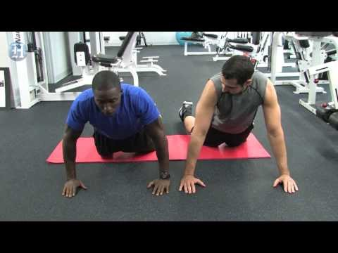Fit tip:  Push ups for beginners & the advanced