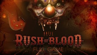 Until Dawn Rush Of Blood VR Complete Game Walkthrough Full Game Story No Commentary PSVR PS4 Pro