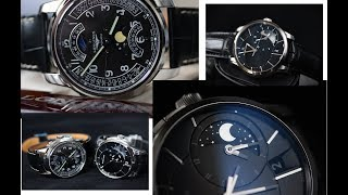 Longines Vs Maurice Lacroix / костюмники и Луна / обзор часов