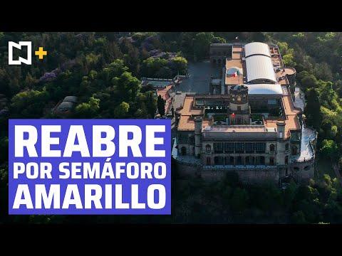 Reabre Museo Nacional de Historia del Castillo de Chapultepec tras cierre por pandemia