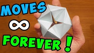 How To Make a Paper MOVING FLEXAGON - Fun & Easy Origami