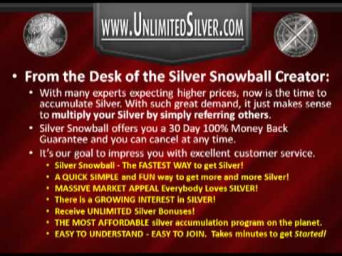 Earn Unlimited Silver with Silver Snowball | UnlimitedSilver.com