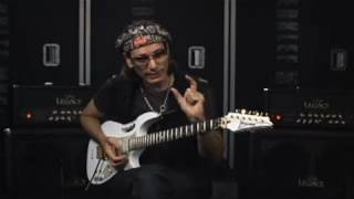 "Steve Vai - ""Jibboom Lesson"" - Steve Vai Guitar Techniques Berklee Music Online Course"