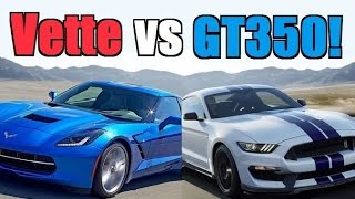 2016 Corvette vs 2016 Shelby GT350...Can a Mustang Really be Better?
