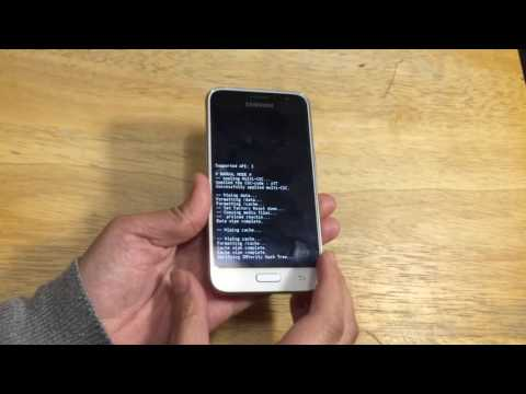 Como hacer un hard reset en un Galaxy Express 3 J120A AT&T GoPhone