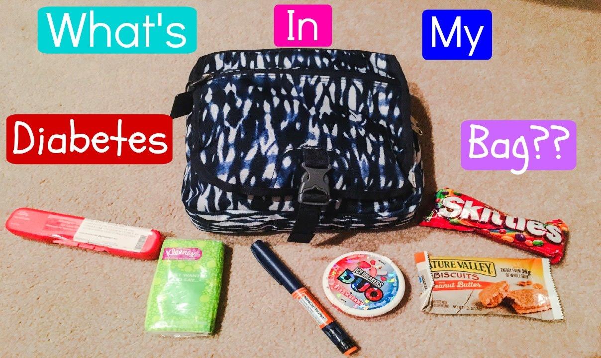 What S In My Diabetes Bag Laina Elyse