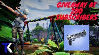 FORTNITE REANIMATED - SOLID GOLD - Free Giveaway - Save the World @200 Subs - XBOX - UK Streamer