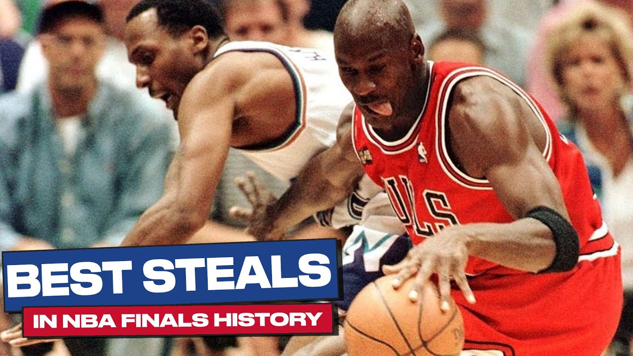 The Best Steals In NBA Finals History! 🍪