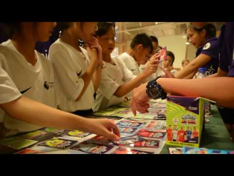 Match Attax at the Premier League Asia Trophy!