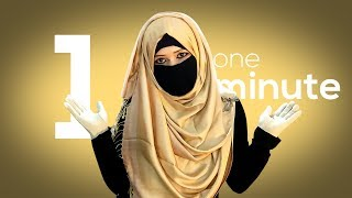 1 Minute Quick And Simple Everyday Use Hijab And Niqab Style Tutorial | NiqaBee