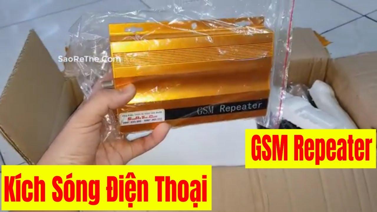 Kích Sóng Điện Thoại GSM – Repeater GSM