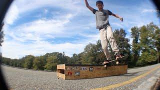 Diy Box Skate Sesh Pt. 2