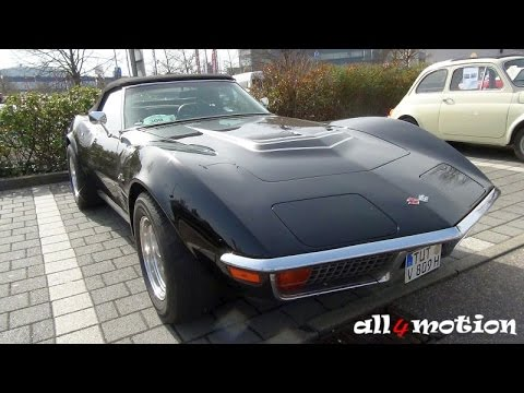 1970 corvette c3 stingray cabrio lt 1 darkpurple youtube. Black Bedroom Furniture Sets. Home Design Ideas