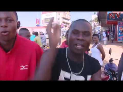 Amasasi gavuze nga Poliisi erwana n'aba Bodaboda mu Kampala