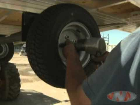 hqdefault newmans snowmobile trailer assembly youtube