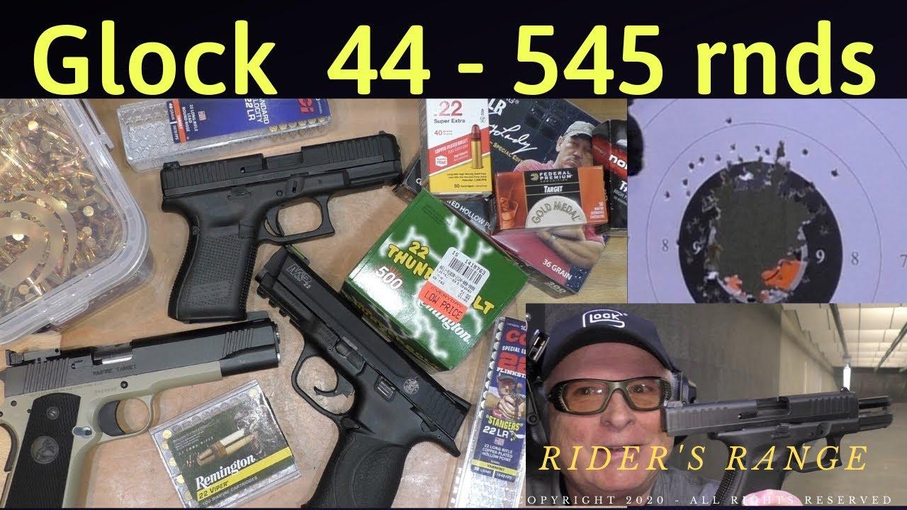 545 rounds through the Glock 44 - Bad gun, or bad ammo?