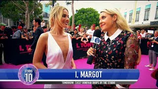 Margot Robbie At The Australian 'I, Tonya' Premiere | Studio 10