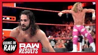 Where Does Seth Go From Here? Cass Released! WWE Raw 6/18/18 Review & Results! Going In Raw Podcast