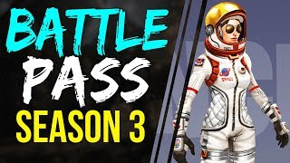 Fortnite Battle Royale Season 3 Battle Pass Purchasable with V-BUCKS & Details