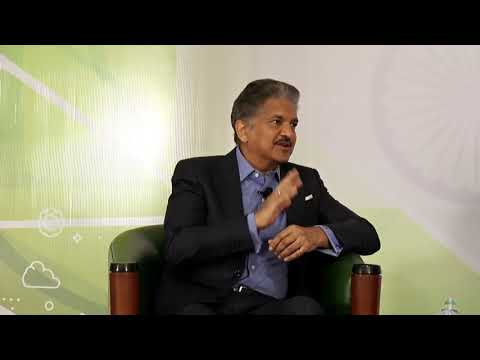 First Leadership Talk  by Shri. Anand Mahindra, Chairman, Mahindra Group